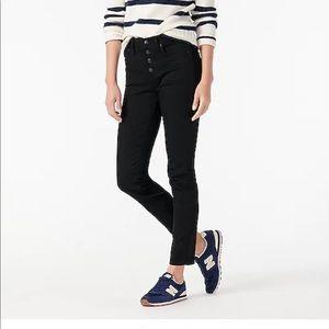"9"" vintage straight jean in black New"